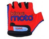 Kiddimoto Red handsker, str. medium