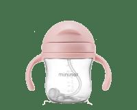 Mininor sugerørskop rosa