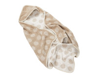 Leander økologisk hoodie - Cappucino