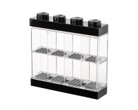 LEGO Minifigure Display Case - 8 Figurer - Sort