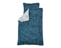 Done by Deer baby sengetøj - Sleepy blue - 70x100 cm.