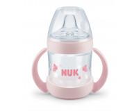 NUK Sense learner flaske - rosa