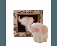 Oli & Carol bidedyr elefanten Nelly