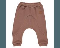 Gro Willas joggingbuks - Rødbrun