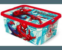 Spiderman opbevaringskasse med klikfunktion