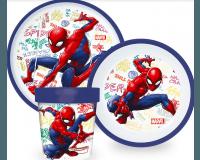 Spiderman Premium Spisesæt 3 dele