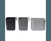 Leander Opbevaringsholdere 3pk - Dusty Grey