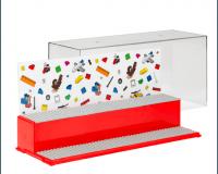 LEGO - Iconic udstillingskasse - Rød