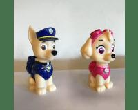 Paw Patrol Chase og Skye lampe