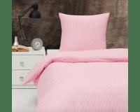 BySkagen Kirsten babysengetøj 70x100 cm. - rosa striber