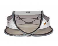 Deryan Baby Luxe pop-up rejseseng - silver