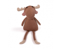 Filibabba Milo the moose Bamse - Brownie