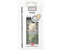 BIBS Supreme Str. 1 Latex Sutter - ivory/sage