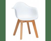 Tiny Republic Børnestol m. Armlæn - Hvid