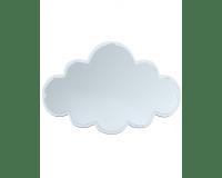 Maseliving spejl sky hvid