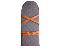 Sleepbag Bæreplade med remme - Denim Look