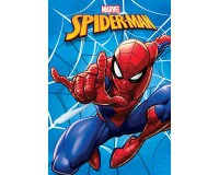 Spiderman fleece tæppe 120x140 cm