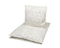 Müsli sengetøj - Twinkle - cream - 140x200 cm.