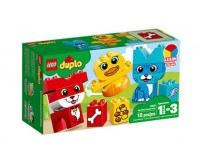 LEGO DUPLO - Mine Første Puslerier - Kæledyr - 10858