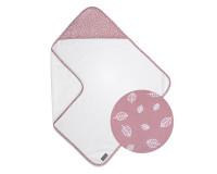 Vinter & Bloom Nordic Leaf badehåndklæde - Soft Pink
