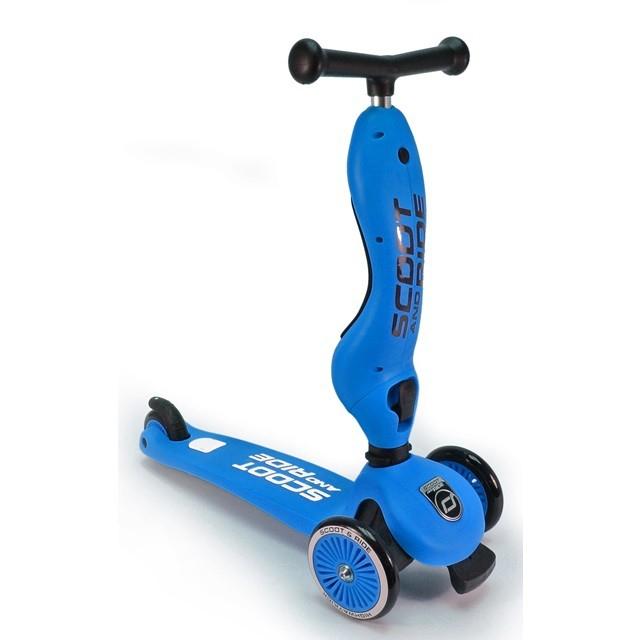 Highwaykick 1 løbecykel/løbehjul - blå, 3 stk. på lager fra Highwaykick fra pixizoo