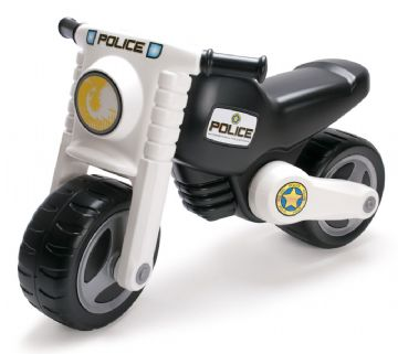 Dantoy – Dantoy løbecykel politimotorcykel 2 hjul, +10 stk. på lager på pixizoo