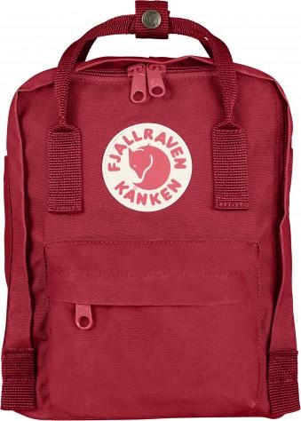 "Fjã""llrã""ven Fjällräven mini kånken rygsæk - deep red, +10 stk. på lager på pixizoo"