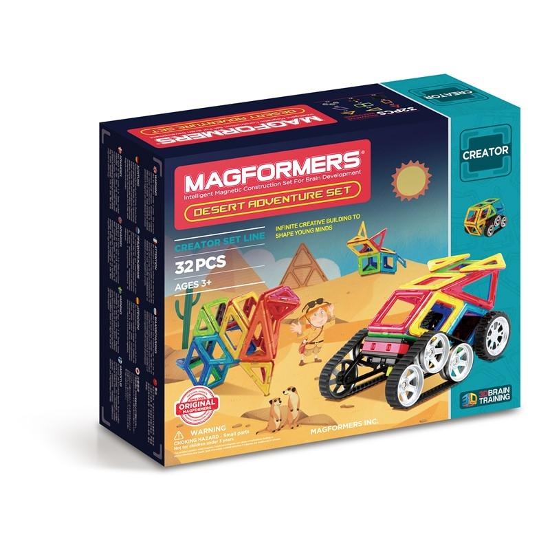 Magformers Byggsats Desert Adventure Set