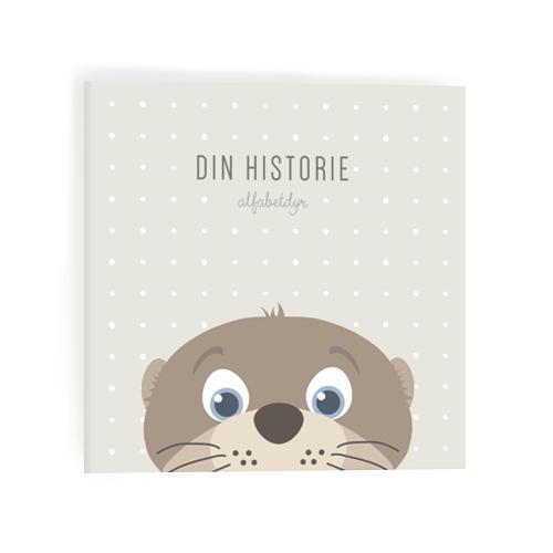 Alfabetdyr – Alfabetdyr din historie - brun odder , 4 stk. på lager på pixizoo