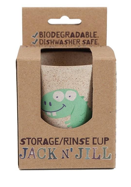 Jack n jill Jack n jill rinse cup - dino, 1 stk. på lager fra pixizoo