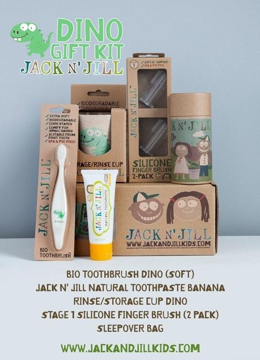 Jack n jill – Jack n jill - dino gavesæt, 2 stk. på lager fra pixizoo