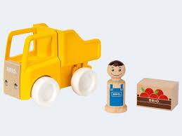 BRIO Lastbil med Lastare