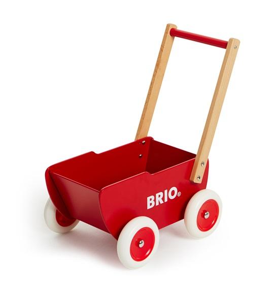 BRIO Trädockvagn - Röd