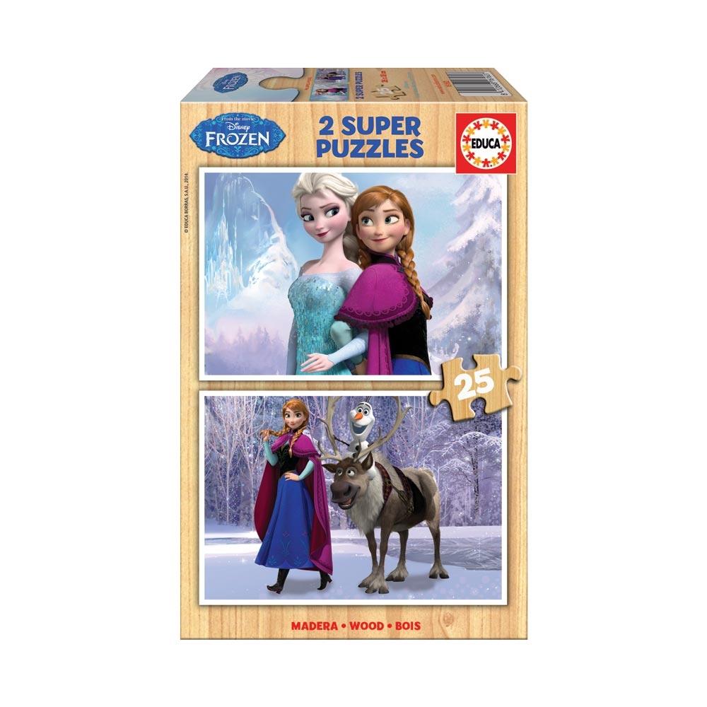 Educa 2x25 Frozen Pussel