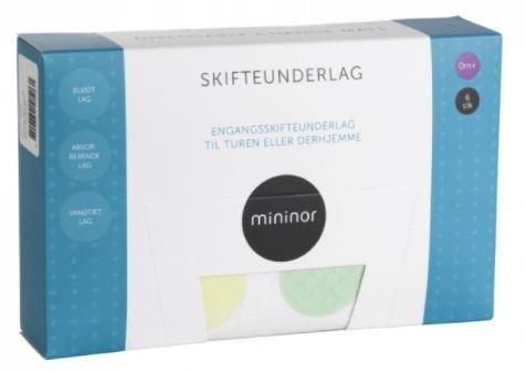 Mininor Engångsunderlägg 6-pack