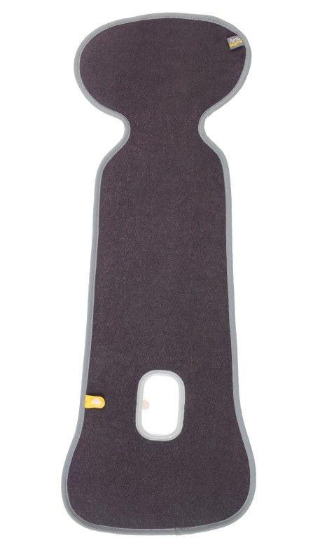 Baby dan aeromoov underlag, antracit 0-12 kg tilbehør til autostol, +10 stk. på lager fra Baby dan fra pixizoo