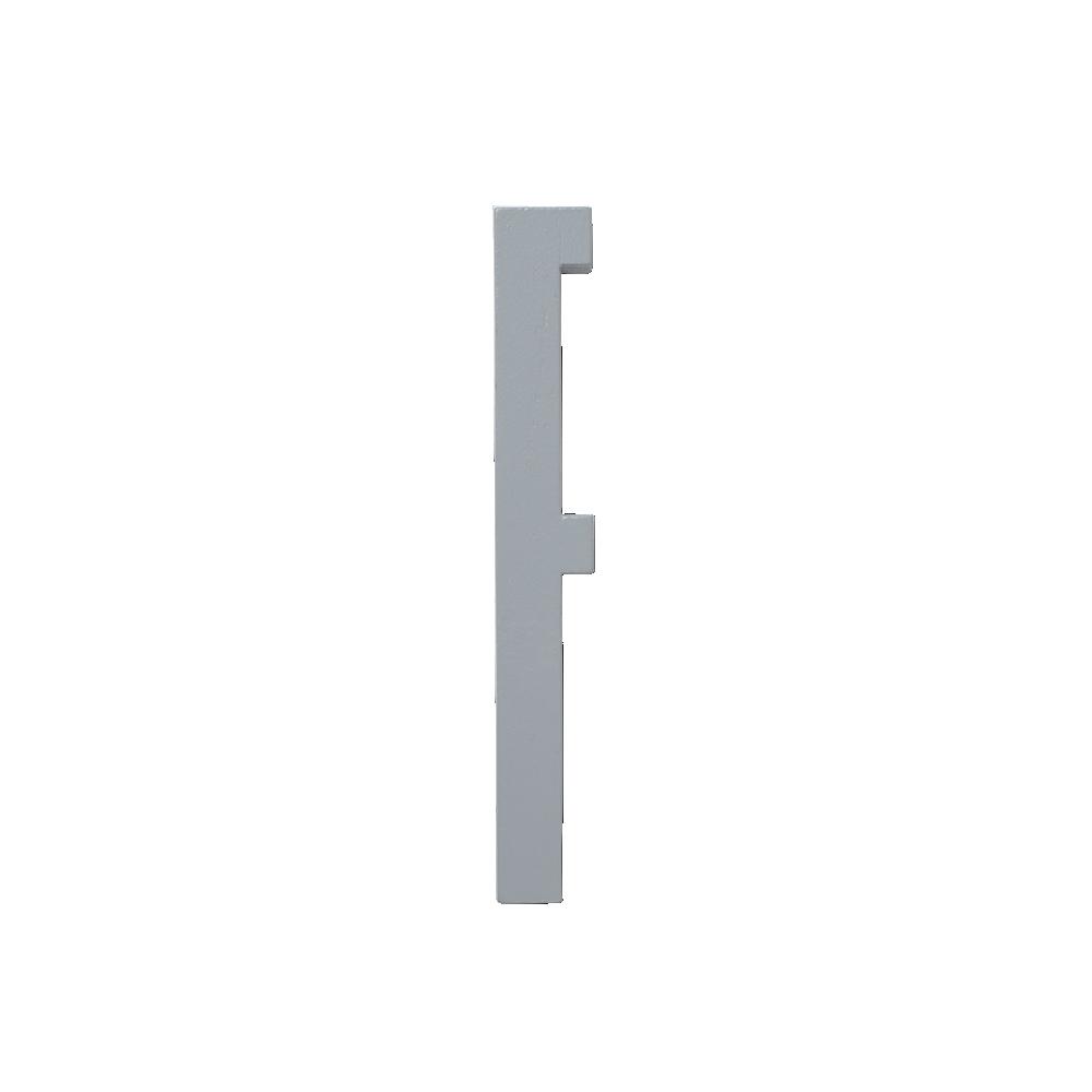 Design Letters Trä Bokstav F - Grå