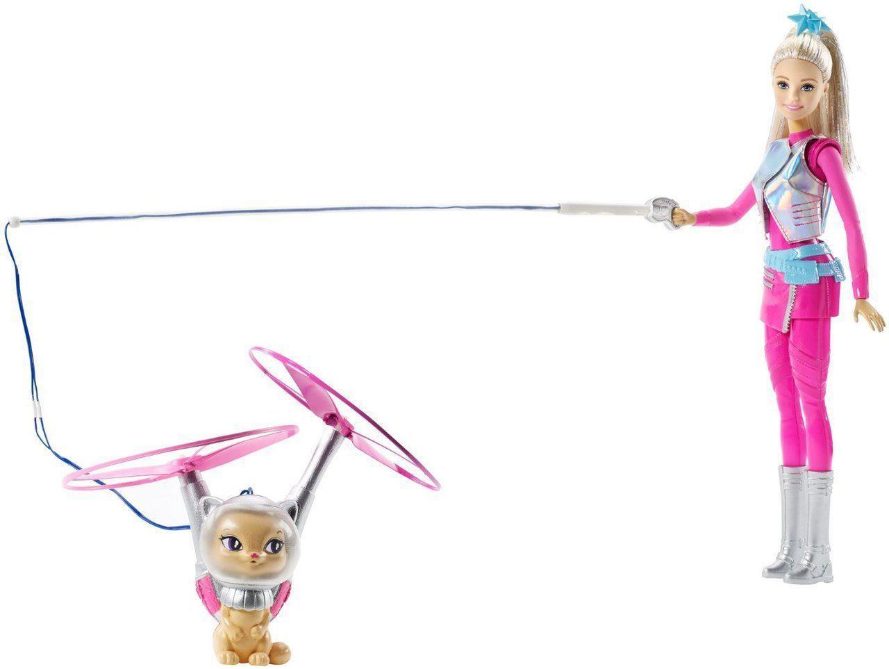 Barbie - dukke m. flyvende kat, 6 stk. på lager fra Barbie på pixizoo