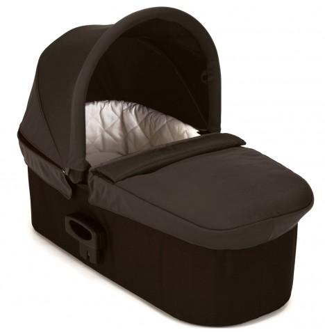 Baby jogger Baby jogger deluxe pram single - charcoal/denim, +10 stk. på lager på pixizoo