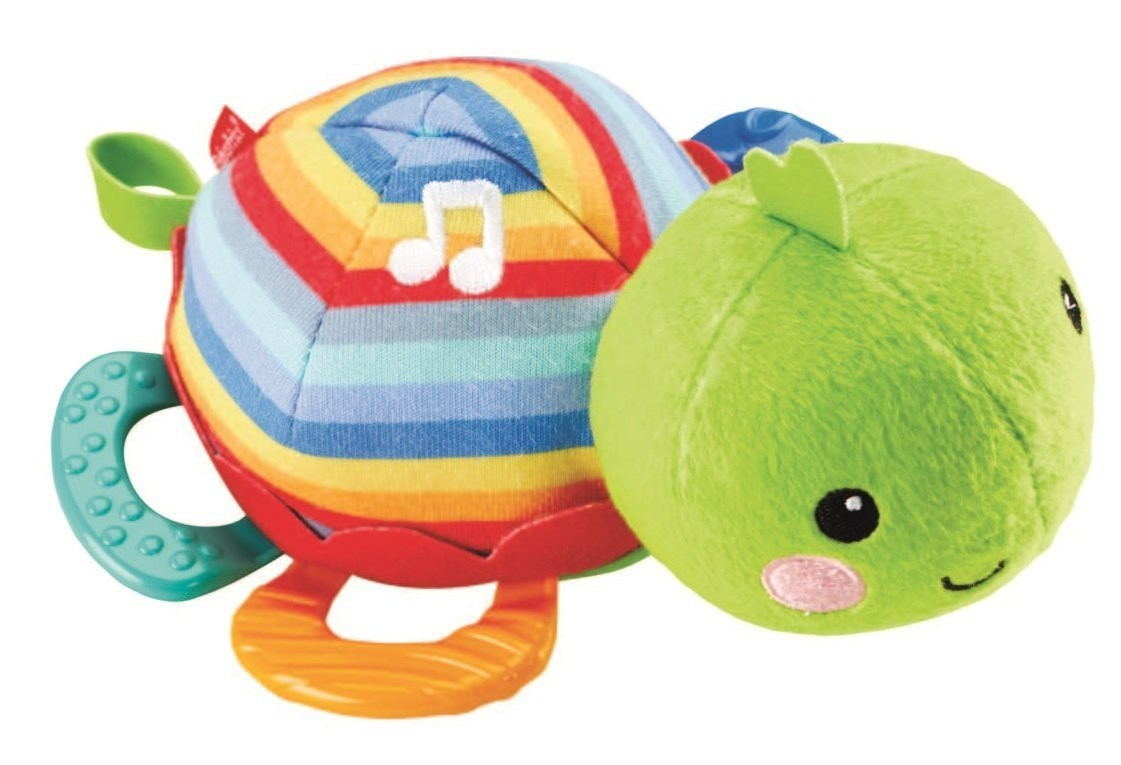 Fisher price – Fisher price teething turtle, 2 stk. på lager fra pixizoo