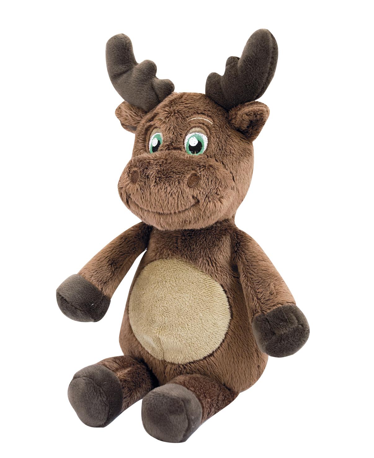 My teddy - lille bamse, elg, 3 stk. på lager fra My teddy fra pixizoo