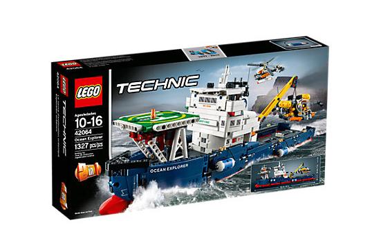 LEGO Technic (42064) Havsutforskare