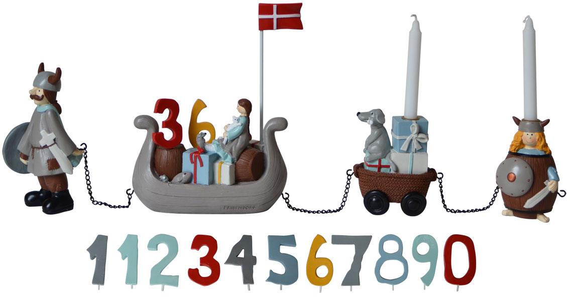 Kids by friis – Kids by friis - fødselsdagstog viking, 1 stk. på lager fra pixizoo
