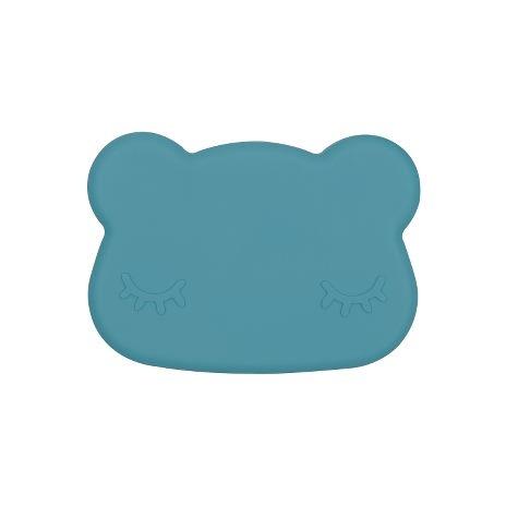 We Might Be Tiny Bear Matlåda - Petrolblå