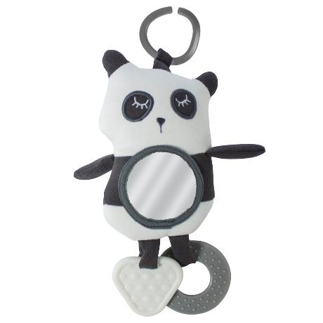 Sebra Panda Aktivitetsleksak Bilbarnstol