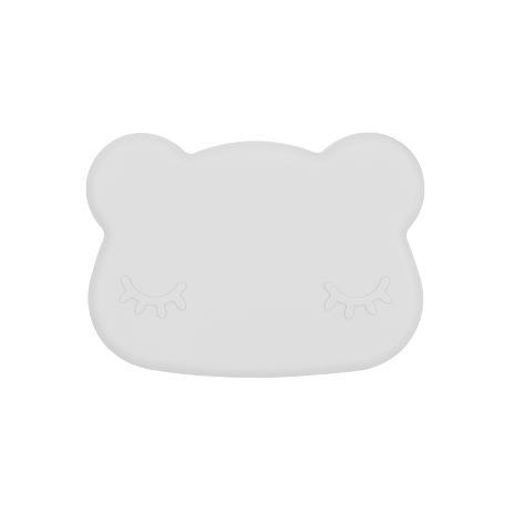 We Might Be Tiny Bear Matlåda - Ljusgrå