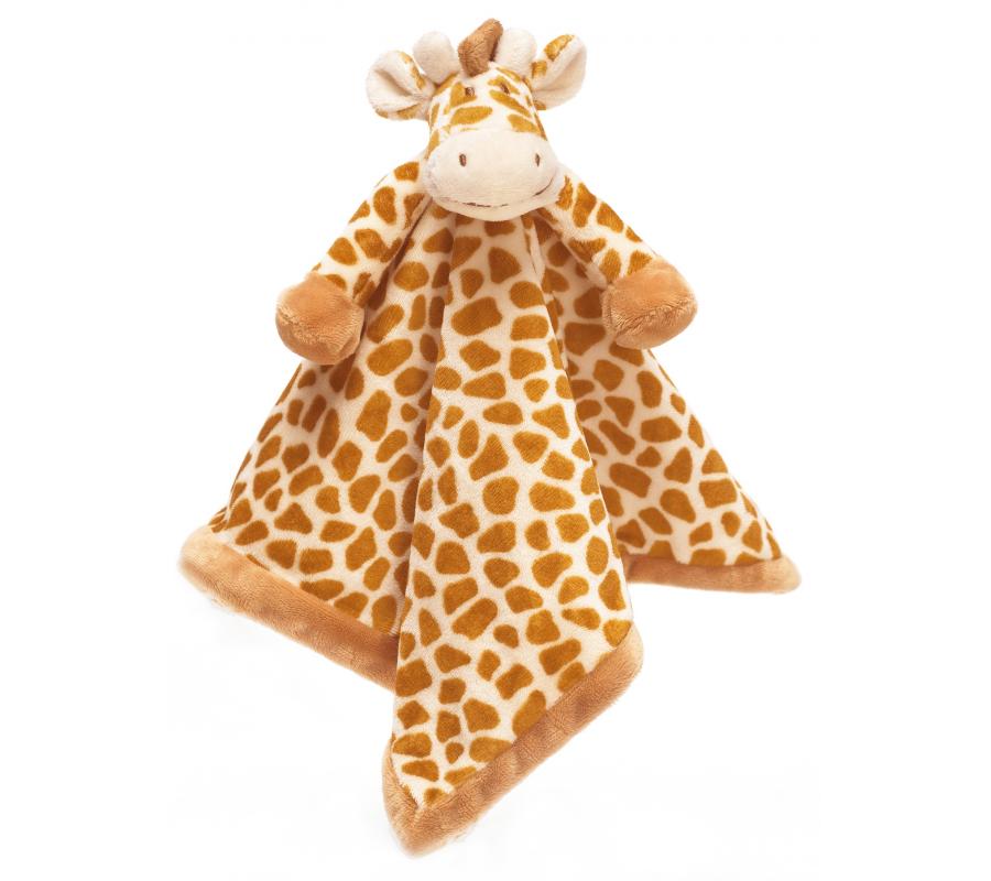 Teddykompaniet Diinglisar Snuttefilt Wild Giraff - Brun/Beige