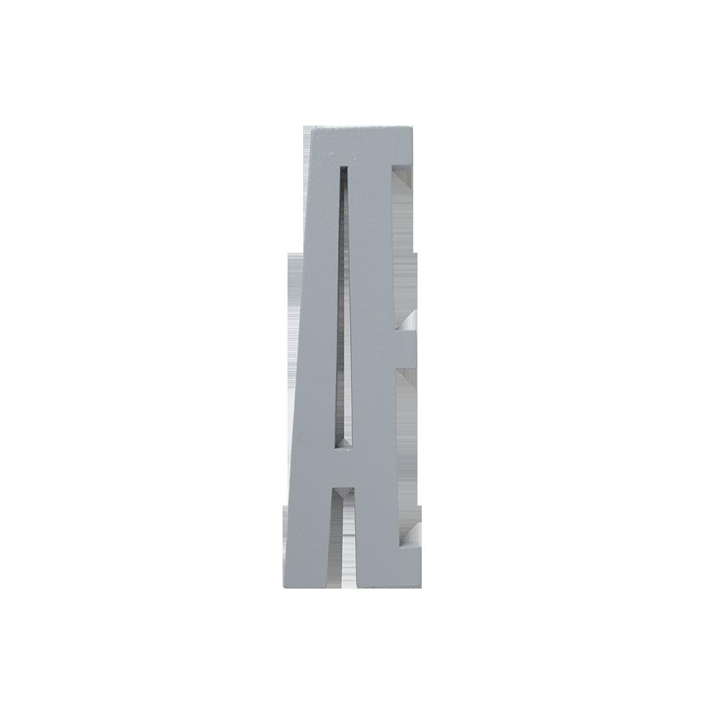 Design Letters Trä Bokstav Æ - Grå