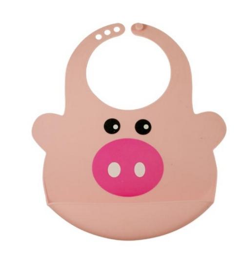 Safe health – Safe health silikone gris hagesmæk, 10 stk. på lager på pixizoo