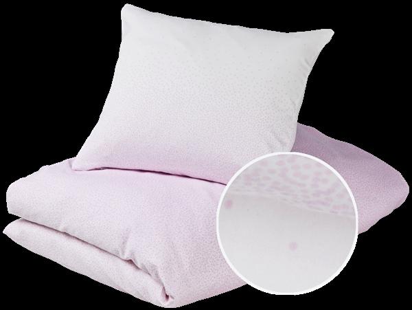 Gubini junior bedding - snowfall violet sengetøj, 6 stk. på lager fra Gubini på pixizoo